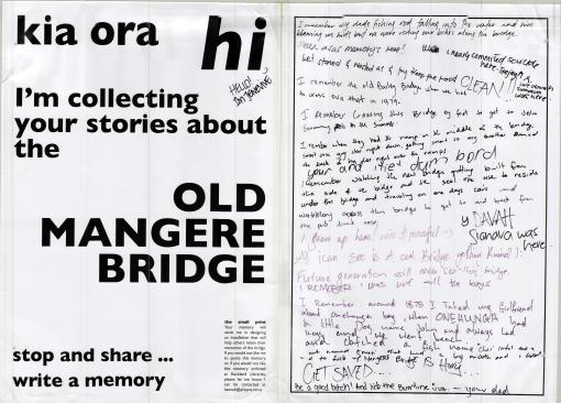 Mangere Bridge Memories 13-14 Jan 2014 2 Hannah Alleyne