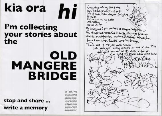 Mangere Bridge Memories 15-16 Jan 2014 2 Hannah Alleyne