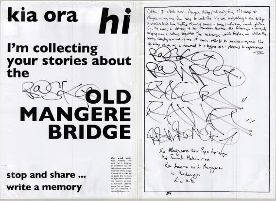 Mangere Bridge Memories 15-16 Jan 2014 3 Hannah Alleyne