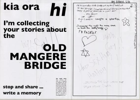 Mangere Bridge Memories 18-19 Jan 2014 1 Hannah Alleyne