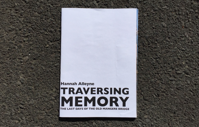 Traversing Memory booklet